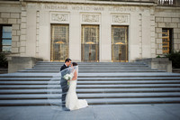 Stephanie + Ryan's July 9th, 2016 Union Station Indianapolis Wedding